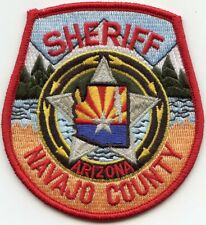 NAVAJO COUNTY ARIZONA AZ SHERIFF POLICE PATCH