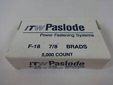 """ITW Paslode F-18 7/8"""" 18 Guage Galvanized Brad 5,000 Per Box"""
