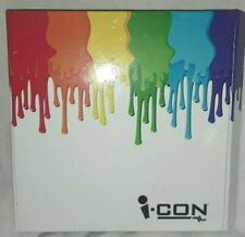 iCon Nintendo DS / DSi Rainbow Stylus Pack & Travel Case Holds 9 Games+7 Stylets