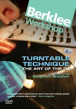 Turntable Technique The Art of the Dj - Dvd Berklee Dvd New 050448025