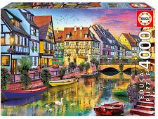 Puzzle Educa 17134 Canal de Colmar, Francia, Paisaje, 4000 Piezas teile pieces