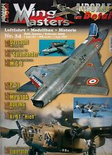 Wing masters nº 24 enero/febrero aviación 2005 * modellbau * historial