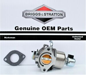 Genuine OEM Briggs & Stratton CARBURETOR 594593 replaces  794572