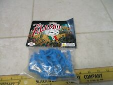 Classic Toy Soldiers 1/32 54mm Plastic Army Men Playset Alamo Blue Riding Mexica
