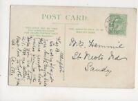 Allington Grantham 3 Oct 1910 Single Ring Postmark 301b