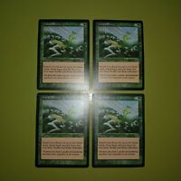 Gaea's Bounty x4 Urza's Saga 4x Playset Magic the Gathering MTG