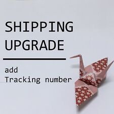 JAPAN Shipping Upgrade / ePacket light (have a tracking number) for 3 items