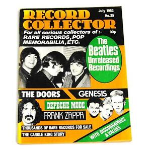 Record Collector Magazine Vintage July 1982 The Beatles Depeche Mode