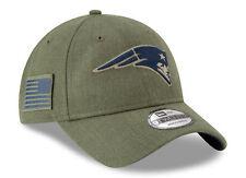 New England Patriots New Era NFL 2018 Salute to Service 9Twenty Strapback Hat