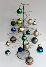 Vintage Wire Metal Christmas Tree Ornament Display NOS