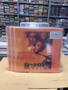 ENNIO MORRICONE LP L ISTRUTTORIA E CHIUSA DIMENTICHI ORANGE MARBLED VINYL