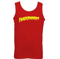 Mens Hulkamania Vest Hulk Hogan Stag Doo Fancy Dress Wrestling Gym Training
