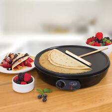 "Quest Electric 12"" inches 1000 Watt Non Stick Large Pancake Crepe Maker Machine"