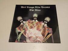 THE NICE - ARS LONGA VITA BREVIS - LP 1986 CASTLE RECORDS MADE IN UK - NM/EX-