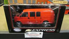 HWY 61 DCP RED CHEVROLET CHEVY EXPRESS CARGO DELIVERY VAN TRUCK 1:25 1:24 /CL