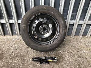 2013 PEUGEOT 508 SPARE WHEEL 215/60/R16 TREAD 6.18MM WITH JACK     •1
