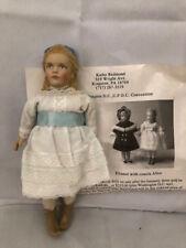 1990 UFDC  Doll Alice by Artist Kathy Redmond