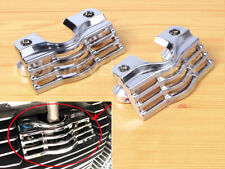 Chrome Slotted Covers Spark Plug-Head For Harley Touring FLHR/T/X Road King Part