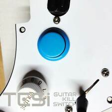 Tesi DITO Snap-in 24MM Guitar Arcade Button Kill Switch Solid Light Blue