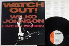 WILKO JOHNSON WATCH OUT! (LIVE IN LONDON) SMS SP20 5296 JAPAN VINYL LP