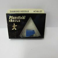 STEREO PHONOGRAPH STYLUS NEEDLE for Sanyo Fisher ST-37D MG-37D CARTRIDGE 746-D7