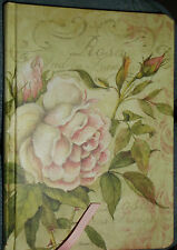 NEW! CLASSIC ROSE HIGH QUALITY JOURNAL LINED PAGES ELASTIC CLOSURE VERY NICE!!