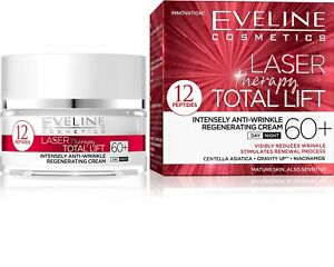 Eveline Laser Therapy Total Lift Regenerating Day Night Face Cream 60+ 50ml