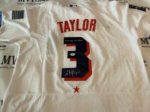 PSA/DNA Authentic Chris Taylor Autograph 2021 NL Jersey w/ 2021 NL All-Star