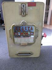 Vintage Exacta Penny Slot Machine 1 CENT Home Decor