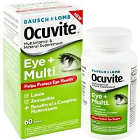 Bausch + Lomb Ocuvite Eye and Multi Tablets, 60 Count