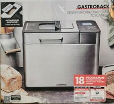 GASTROBACK 42823 Design Brotbackautomat Advanced 18 Programme für Eiscreme etc.