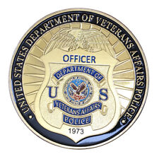 United States Department of Veterans Affairs Police GP Challenge coin 1412#