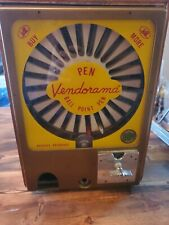 Original Vintage VENDORAMA Ball Point Pen Vending MachineNeeds Repair