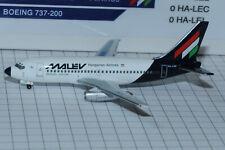 """AEROCLASSICS 1/400 Boeing B737-200 MALEV HA-LEB """"limited 48pcs """""""