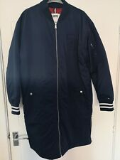 Women's Tommy Hilfiger Long Pad Jacket Size Large Brand New Colour Blue