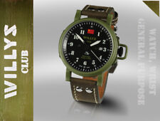Jeep Willys military army swiss automatic collectible watch limited edition