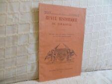 Revue historique de Toulouse études sur le vieux Toulouse 1931 n° 3  Languedoc