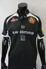 SAMURAI EXTER RUGBY Chiefs Black Shirt Rugby League Jersey SIZE M (adults)