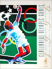 Atlanta 1996 Olympic Games TENNIS Official Original Event POSTER