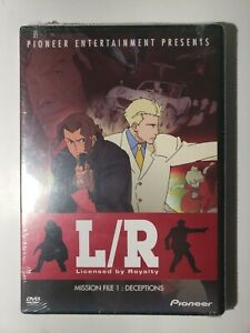 L/R - Mission File 1: Deceptions (DVD, 2003) - NEW, UNOPENED