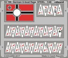 Eduard 531961/48  German U-Boat Flags (Painted)