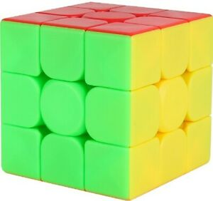 Zauberwürfel MoYu Meilong 3x3 stickerless Original Speedcube magiccube