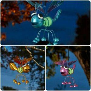 Set of 3 Smart Garden GloBugs Glow in The Dark Hanging Bouncing Bugs Ornament
