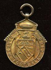 "Barrow Football Club 9kt Gold Medal - Engraved ""W.S. 1911"""