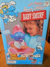 COMPLETE BRAND NEW IN BOX 1996 SMURFS BERRY LOVIN BABY SMURF DOLL VINTAGE