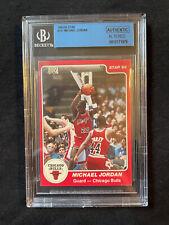 1984-85 Star Basketball Michael Jordan XRC #101 ROOKIE RC Graded BGS AUTH
