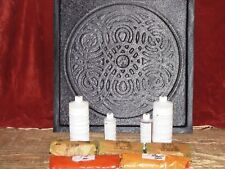 """GIANT 22"""" CELTIC DESIGN GARDEN PATH STEPPING STONE MAKING KIT W/SUPPLIES & MOLD"""