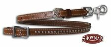 WESTERN HORSE SADDLE WITHER STRAP TO HOLD UP THE BREAST COLLAR PLATE MEDUM BROWN
