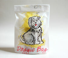 20 Plastic Doggie Take Home Bags Free Shipping
