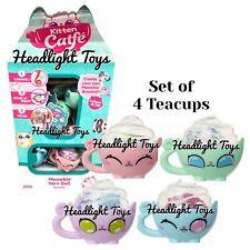 4 Kitten Catfe Meowble Yarn Ball Mystery Teacup Friendship Bracelet Charm Cafe